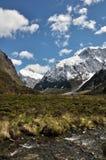 Mt.Talbot & Mt.Crosscut. Taken at little's flat, fiordland national park, New Zealand Royalty Free Stock Image