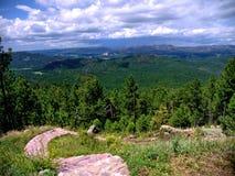 从Mt. Tallac的视图在Tahoe湖 柯立芝 免版税库存照片