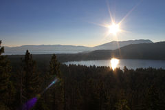 Mt. Tallac Sunrise Royalty Free Stock Images