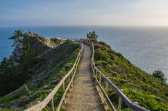 Mt Tamalpais to the coast. A very inviting welcome to the Northern California, Mt Tamalpais Stock Photography