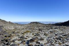 Mt. Taranaki新西兰 免版税库存照片