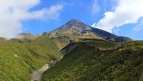 Mt. Taranaki/Egmont Stock Image