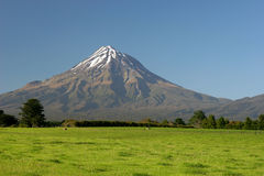Mt. Taranaki, New Zealand Stock Photography