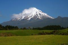 MT Taranaki, Nieuw Zeeland Stock Afbeeldingen