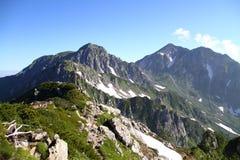 Mt.Tateyama Stock Photo