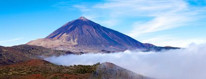 Mt Teide Royalty Free Stock Photography