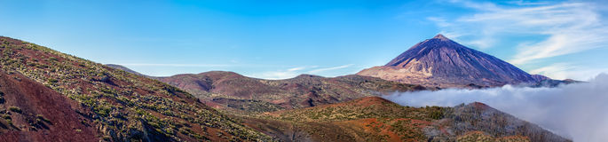 Mt teide Royalty Free Stock Photo