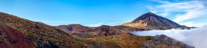 Mt teide Royalty Free Stock Photos
