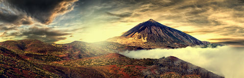 Mt teide Stock Photography