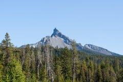 Mt Theilsen na słonecznym dniu zdjęcia royalty free