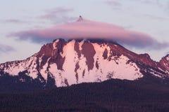 Mt Thielsen, Oregon Stock Image
