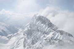 Mt Titless瑞士 免版税图库摄影