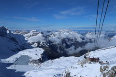 Mt Titlis Obrazy Royalty Free