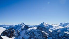 Mt Titlis in der Schweiz Stockfotografie