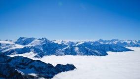 Mt Titlis in der Schweiz Stockbilder