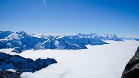 Mt Titlis en Suiza Imagen de archivo