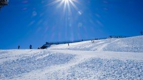 Mt Titlis i Schweiz Royaltyfria Foton
