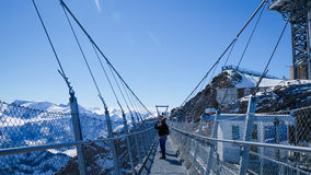 Mt Titlis i Schweiz Royaltyfri Bild
