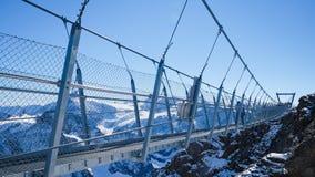 Mt Titlis i Schweiz Royaltyfri Fotografi