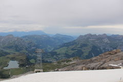 MT TITLIS Royalty Free Stock Photography