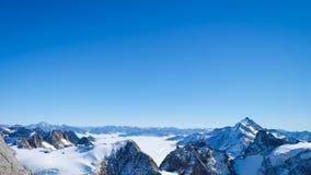 Mt Titlis in Svizzera Immagine Stock Libera da Diritti