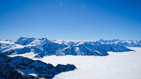 Mt Titlis in Svizzera Immagini Stock