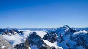 Mt Titlis in Svizzera Immagine Stock