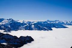 Mt Titlis in Svizzera Fotografie Stock Libere da Diritti