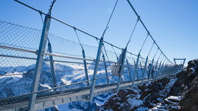 Mt. Titlis in Switzerland. Royalty Free Stock Photography