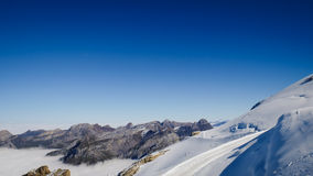 Mt. Titlis in Switzerland. Stock Photography