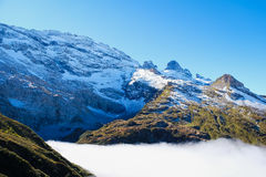 Mt. Titlis in Switzerland. Alps, view from Mt. Titlis in Switzerland Royalty Free Stock Images