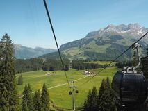 Mt. Titlis, Switzerland From the viewpoint 360 degree panoramic, the popular tourist attractions of Switzerland. Mt. Titlis Switzerland From the viewpoint 360 royalty free stock image