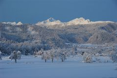 Mt. Triglav Royalty Free Stock Images