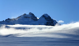 Mt. Tronador International Peak and Argentine Peak royalty free stock images