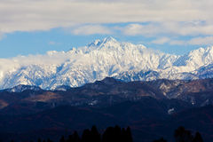 Mt. Turugi in Japan Stock Photography