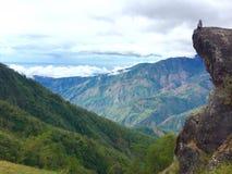 Mt Ulap - утес Стоковое Фото