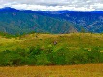Mt Ulap - la capanna del costruttore fotografie stock