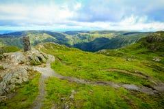 Mt Ulriken Photo stock
