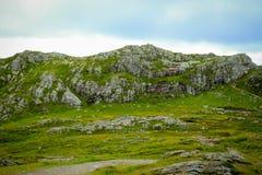 Mt Ulriken Arkivbild