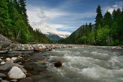Mt. Un parque nacional más lluvioso Fotografía de archivo