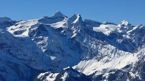 Mt Uri Rotstock nell'inverno Immagine Stock