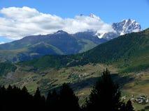 Mt Ushba Images libres de droits