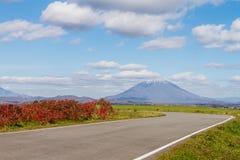mt-vägrushmore till Yotei Royaltyfri Fotografi