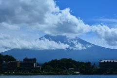 MT van Fuji Stock Fotografie