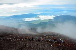 MT van Fuji royalty-vrije stock afbeelding
