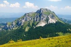 Mt. Velky Rozsutec, Mala Fatra, Slovakia. View of Mt. Velky Rozsutec from Stoh, Mala Fatra, Western Carpathians, Slovakia Royalty Free Stock Images