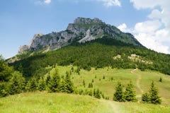 Mt. Velky Rozsutec, Maly Fatra, Slovakia. View of Mt. Velky Rozsutec from Meziholie pass, Mala Fatra, Western Carpathians, Slovakia Royalty Free Stock Photo
