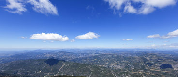 Mt Ventoux alps view Stock Images