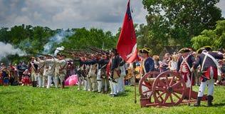 Mt Vernon 4th av Juli beröm Arkivfoto