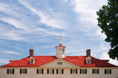 Mt. Vernon, Virginia. Roof and cupola at Mount Vernon, Virginia, home of the first President of the United States, George Washington Royalty Free Stock Image